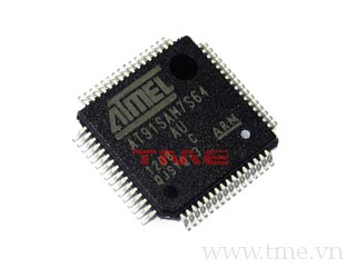 MCU ARM7 64KB FLASH LQFP-64