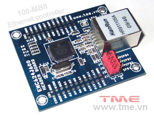 ENC624J600-H (10/100 Ethernet Controller with SPI or Parallel