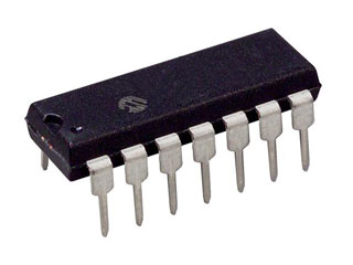 MCU 8BIT 3.5KB FLASH DIP-14